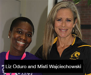 Photo of Liz Oduro and Misti Wajciechowski