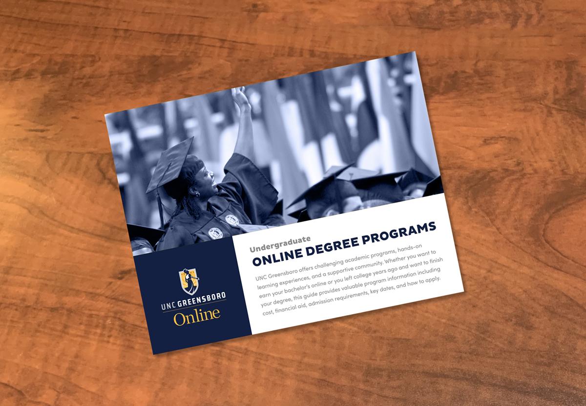 UNCG Online undergraduate guide cover image