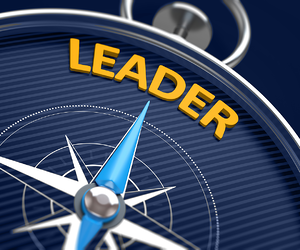 Compass with Leader at North