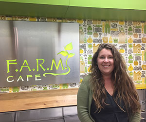 Photo of Elena Dalton at Farm Cafe